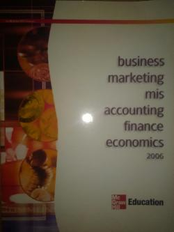 Busines marketing mis accounting finance economics 2006, Колектив