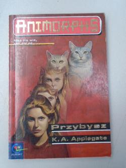 Animorphs visitor book 2 italian l'ospite cover, K.A.Applegate