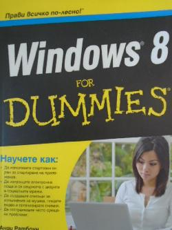 Windows 8 for dummies ,