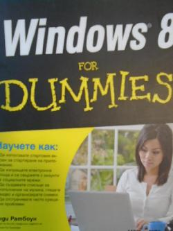 Windows 8 for dummies, Aнди Радбоун