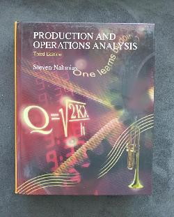 Production and Operations Analysis, Steven Nahmias