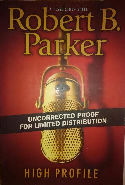 HIGH PROFILE, Robert B. Parker