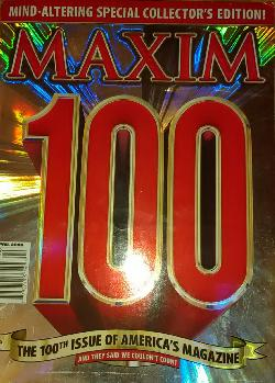 Maxim April, 2006-The 100th Issue of Maxim Collector's Edition, Колектив