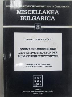 Miscellanea Bulgarica 8, Christo Choliolcev