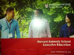 Harvard Kennedy School Executive Education. 2020 POGRAM GUIDE, Колектив