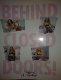 BEHIND CLOSED DOORS!, Agent Provocateur