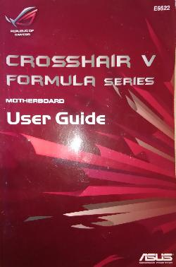 Crosshair V. Formula series. Motherboard. User Guide, Колектив